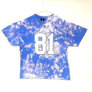 Detroit's Lions custom dyed T-shirt